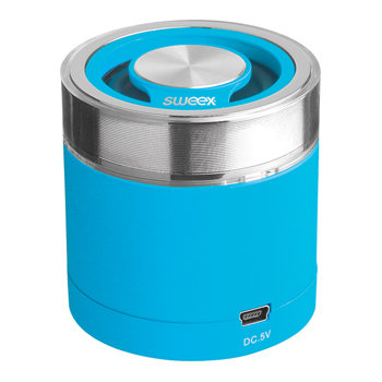 Sweex Bluetooth Draagbare Speaker Rock Buddy Blauw