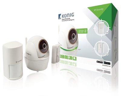 Full HD Smart IPcam-Set Binnen 1080P Wit