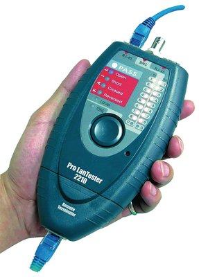 ProLAN cable tester RJ45 / Coax