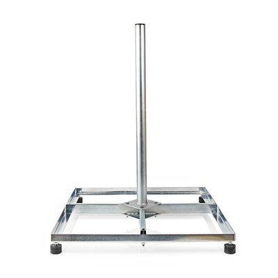 Nedis Satellite Balcony Stand | Max Dish Size: 90 cm | 4 x 50 x 50 cm | Steel