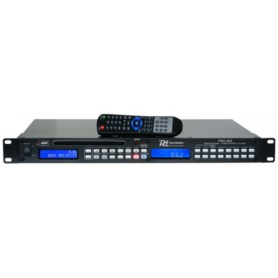 Power Dynamics PDC-60 CD-/USB-speler / Tuner 1U