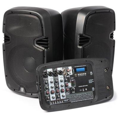 "SkyTecPSS-300 Mobiele Geluidset 10"" SD/USB/MP3"