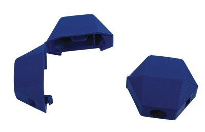Veiligheidsblok voor Displays Blauw