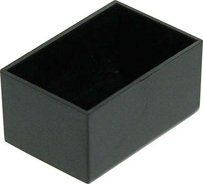 Potting box 20 x 30 x 15 mm Zwart ABS PU = 10 ST