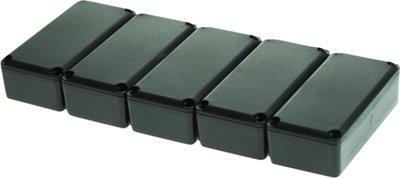 Potting box 27.5 x 57.5 x 18 mm Zwart PU = 5 ST