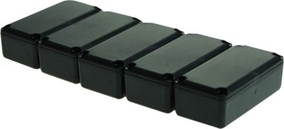 Potting box 16 x 22.5 x 11.3 mm Zwart PU = 5 ST