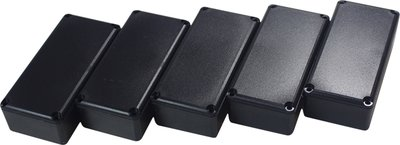 Potting box 31.5 x 66.5 x 20 mm Zwart PU = 5 ST