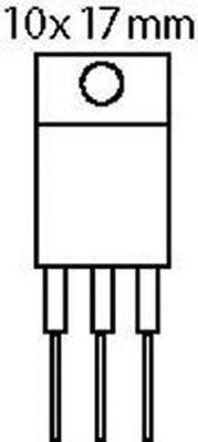 Spanningsregelaar 1.2-37 VDC 1.5 A
