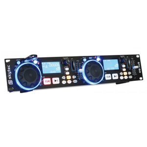 SkyTec STC-50 Dubbele MP3-/USB-/SD-speler