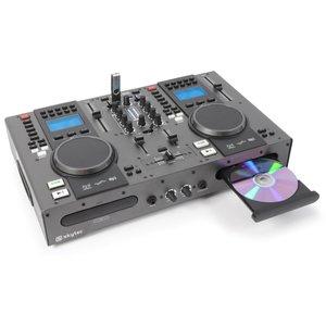SkyTec STX-95 Twin Top Speler & Mixer CD/USB/MP3
