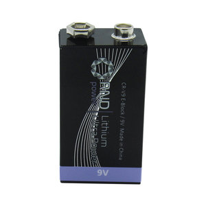 Lithium battery 9V | 10 pieces | Shrink Pack