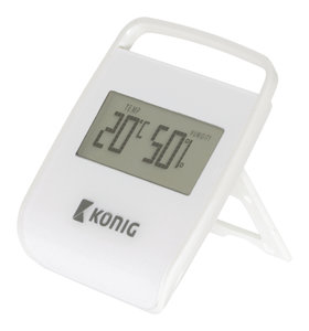 Thermometer/Hygrometer Binnen Wit